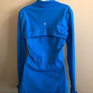 Lululemon Blue Define Jacket Sz 8 Good Condition!